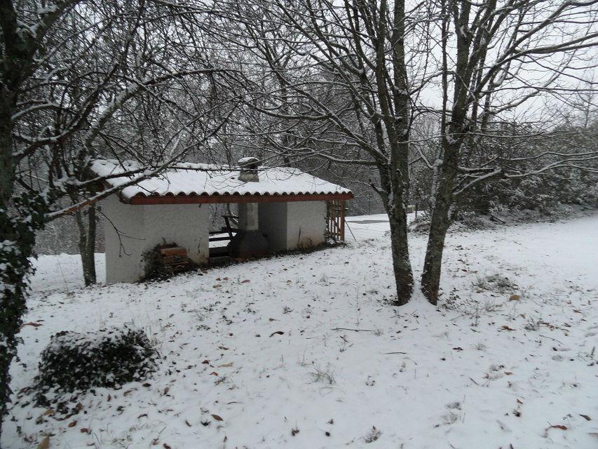 piscine neige